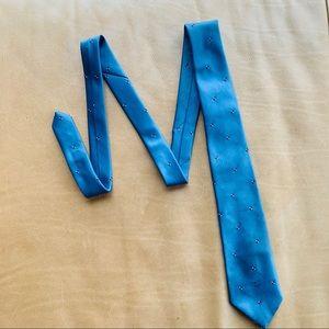 Vintage Christian Dior tie in blue